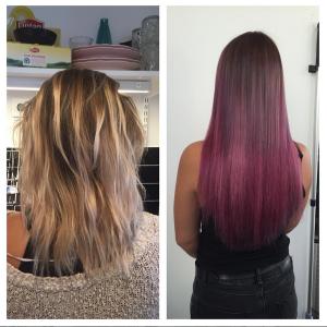 Instagram hårförlängning 2