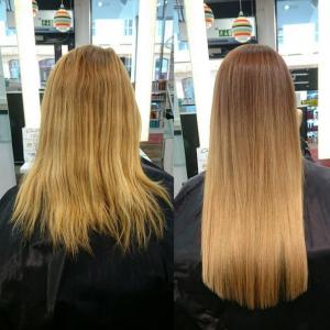 Instagram hårförlängning