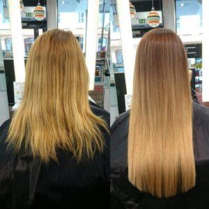hårförlängning frisör göteborg